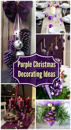 35 Breathtaking Purple Christmas Decorations Ideas – All About Christmas