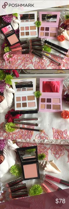 The Beauty MUSE🦄Lorac & Cargo BNIB💯Authentic The Beauty MUSE🦄Lorac & Cargo all Items BNIB💯Authentic,batch numbers shown to verify authenticity.Lorac Venice Beach & Malibu Palettes,Royal Treatment Primer & Mascara Duo,Alter Ego Lipsticks:Granny,CatLady & Minimalist AND Lipglosses:Socialite,Southern Belle,Duchess & Seductress.Cargo Swimmable Eyeshadow Sticks:Sandy Bay & Palm Bay,Blush-Peach Shimmer & Swimmable Eyeliner in Pebble Beach(No BOX for Eyeliner) PRICE is FIRM-All Offers will be…