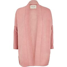 Pink diamond quilted jersey jacket £35.00