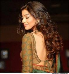 #Backless blouse designs of this sort do not fade away with time.