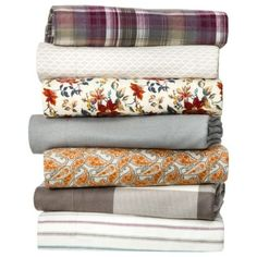 Threshold™ Flannel Sheet Set-grey herringbone