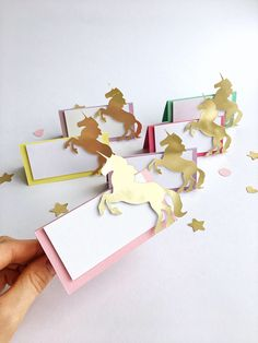 Excited to share the latest addition to my #etsy shop: Unicorn Place Cards Unicorn Rainbow Food Tent Labels Blank Place Cards Unicorn Theme Party Decorations Unicorn Food Card Unicorn Baby Shower