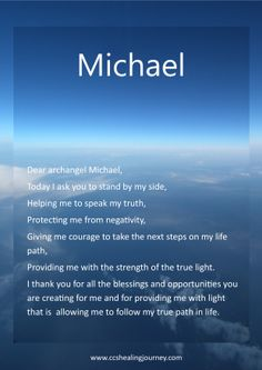 Numerology Spirituality - Archangel Michael Get your personalized numerology reading Reiki, Angel Protector, St. Michael, Michael Angel, Adorable Petite Fille, Archangel Prayers, Angel Guidance, Angel Quotes, I Believe In Angels