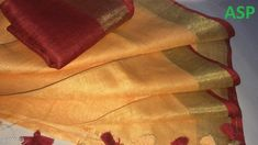 Sarees Attractive Linen Saree  *Fabric* Saree - Linen, Blouse - Linen  *Size* Saree Length With Running Blouse - 6.3 Mtr  *Work* Handloom Work  *Sizes Available* Free Size *   Catalog Rating: ★4 (1149)  Catalog Name: Aaryahi Solid Linen Sarees with Tassels and Latkans CatalogID_127991 C74-SC1004 Code: 357-1051089-