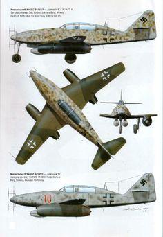 Me 262, primer caza a reacción de la historia