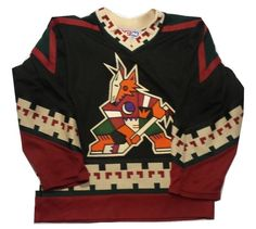 Throwback Phoenix Coyotes Boys Size Small CCM NHL Hockey Sweater Jersey #CCM #PhoenixCoyotes