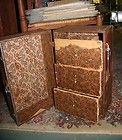 vintage doll chest