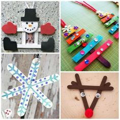 Christmas Popsicle Stick Crafts for Kids to Make