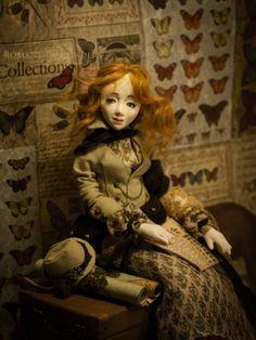 Romantic Wonders Dolls - Home Decor Clay Dolls, Art Dolls, Dolly Doll, Doll Home, Tiny World, Hello Dolly, Handicraft, Designer, Romantic