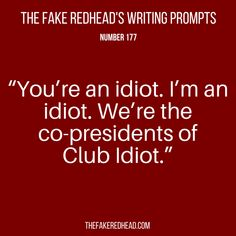 TFR's Writing Prompt 177