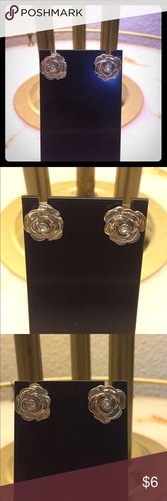 Beautiful Rose 🌹 earrings Never used Jewelry Earrings