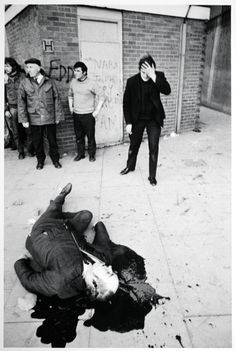 Bloody Sunday:  January 30, 1972 14 unarmed peaceful protestors killed in the streets in Derry, Northern Ireland.