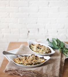 Post image for Spaghetti Squash And Kale Gratin