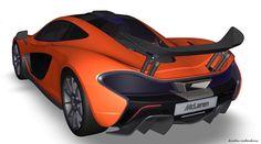 McLaren Alias 3D Model