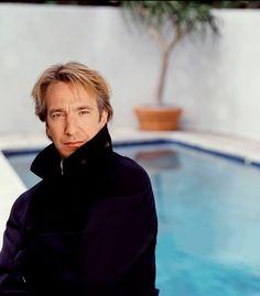 Alan Rickman. Jan 1, 1991 - in Los Angeles, California.