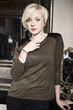 Helen George--Call the Midwife Yay! Am I brave enough to go that short?
