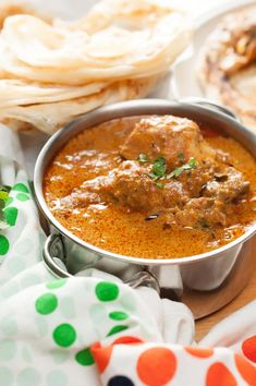 Chicken curry well flavored with spices and coconut milk. An easy and delicious Instant Pot Indian chicken curry recipe that you can quickly make even on a weekday. It goes well with chapati, paratha, any rice variants.