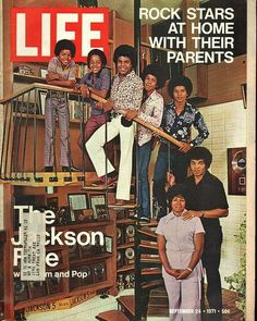 Life Magazine Michael Jackson September 24th 1971
