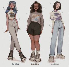 stuff to draw Cute Art Styles, Cartoon Art Styles, Fashion Design Drawings, Fashion Sketches, Aesthetic Art, Aesthetic Clothes, Clothing Sketches, Art Reference Poses, Drawing Clothes