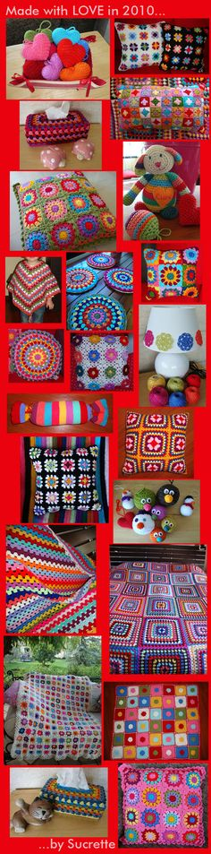 Lemondesucrette - super-colorful crochet blog.