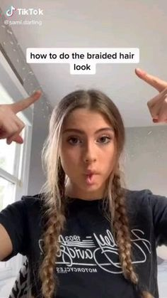 Cute Hairstyles For Teens, Easy Hairstyles For Long Hair, Bandana Hairstyles, Teen Girl Hairstyles, Summer Hairstyles, Heatless Hairstyles, Baddie Hairstyles, Wedding Hairstyles, Hair Up Hairstyles