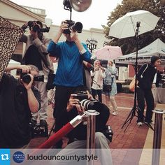 """#Repost from @loudouncountystyle """"Huge shoutout and lots of #love for our #fearless #photographers who are out here #rainorshine to cover events. You know they care less about themselves and more about their equipment getting wet lol @northernvirginiamag @girlfriendgroup #fashionNOVA @cozywoodshop #ericllanesphotography"""""""