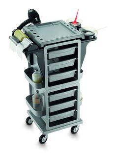 Arbeitswagen Modus Color Silber für Friseure - günstig bei Friseurzubehör24.de // Sie interessieren sich für dieses Produkt