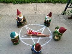 Ghost Hunting Theories: Creepy Lawn Gnomes