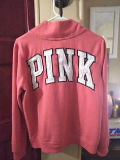 Pink Black, Black And White, Pink Workout, Victoria's Secret Pink, Pullover, Medium, Sweatshirts, Sweaters, Color