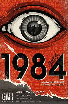 1984, by George Orwell 3 times read, 3 different ages, countless feelings