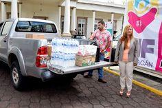 Los donativos serán enviados a las personas que han padecido afectaciones por los sismos registrados los últimos días – Morelia, Michoacán, 19 de septiembre de 2017.El Sistema para el Desarrollo ...