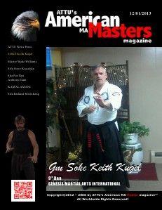 December 2013 issue of ATTU American Martial Arts Masters Magazine online