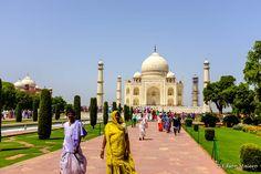 Mais uma foto... fica difícil querer ir embora de Taj Mahal