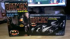 #transformer My Favorite Batman Collection - Charming Japanese Food Play 89 Movie Batman vs Batmobile