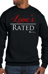 The Unsigned Artist Love's Over Rated - Blk Crewneck