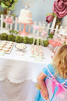 Fairy Garden 3rd Birthday Party | | Kara's Party IdeasKara's Party Ideas