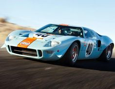 A Ford used by Steve McQueen in the race car film Le Mans became the most expensive American car ever sold at auction, according to RM Auctions. The 1968 Ford GT 40 (a similar version of which is pictured above) sold for a record $11 million at the Pebble Beach Concours dElegance on Aug. 19. 2012. (Pawel Litwinski/RM Auctions)