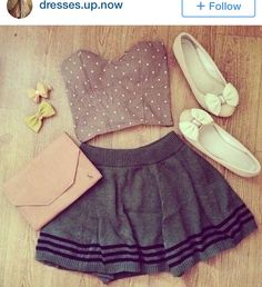 Like the cropped top. But I would probably pair it with a pair of high rise jeans or long skirt.