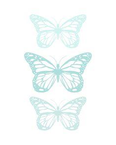Spring-Butterfly-Aqua