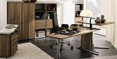 Home Office Decorating Ideas Pictures. Office Decor Ideas For Work. 47077213 Cool Home Office Designs. 5 Home Office Decorating Ideas Modern Office Table, Mesa Home Office, Modern Office Design, Home Office Desks, Office Interior Design, Home Office Furniture, Office Interiors, Office Decor, Furniture Design