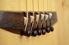 An acoustic guitar is a wooden instrument that's shaped like the number eight and has a hole at its middle part. Often mistaken as a classical guitar, an acoustic guitar is hollow and is composed of six strings made of steel. Guitar Fender, Guitar Chords, Ukulele, Resonator Guitar, Guitar Logo, Acoustic Guitars, Violin, Guitar Shop, Cool Guitar
