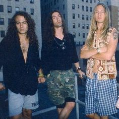 Mike Starr, Sean Kinney, and Jerry Cantrell - Photo by mikestarrforever on Instagram