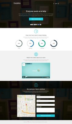 See the live template on Themeforest ➜ http://themeforest.net/item/foundation-nonprofit-instapage-landing-page/9304772