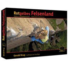 Rotgelbes Felsenland – Kletterführer Mitteldeutschland  Sportklettern in Sachsen-Anhalt und Westsachsen! Products, Magdeburg, Rocks, Yellow, Germany, Red, Gadget