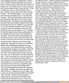 I know it is long, but please please PLEASE read it! It made me cry and I really don't cry often. It's sad but beautiful.