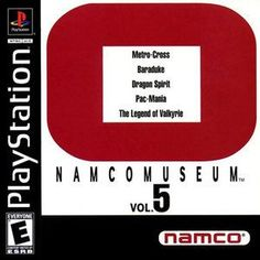 Complete Namco Museum Vol. 5 - PS1 Game