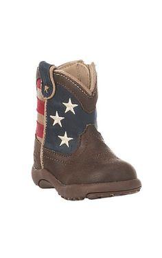 Roper Infant USA Flag Round Toe Boot | Cavender's