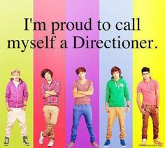 I'm proud to call myself a Directioner. harry styles, niall horan, louis tomlinson, liam payne, zayn malik. :D one direction 1D .xx
