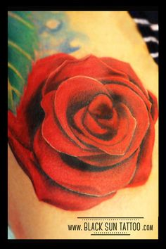 Tattoo by Black Sun Tattoo, Warsaw , Poland #rose #rosetattoo #realisticrosetattoo #redrose #flowertattoo #flowerstattoo #womenstattoo #blacksuntattoo