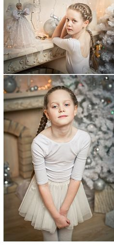 This is a picture of a girl on Christmas